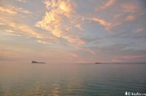 Закат, Маврикий