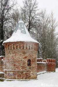 участок крепостной стены