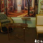 Агатовые комнаты, кресло-каталка Екатерины II