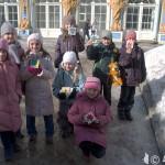Творчество детей - поделки с яшмой