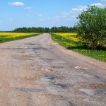 Дорога в ухабах