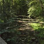 Ломоносов, деревянный мост