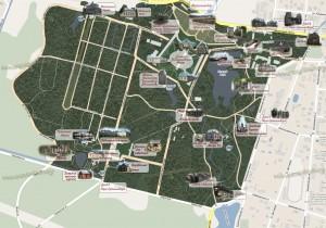 Карта Ораниенбаума