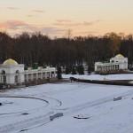 Нижний парк зимой