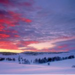 Зимняя долина