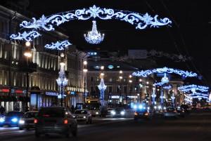 Перспектива Невского проспекта