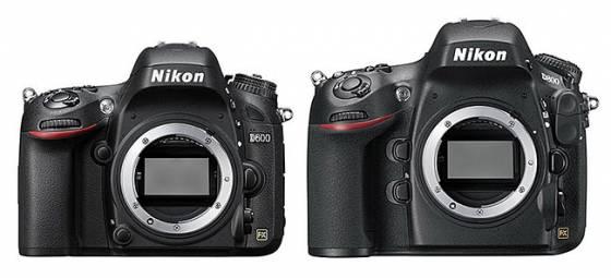 Nikon D800 vs Nikon D600