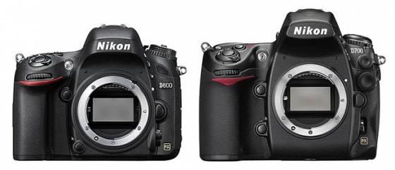 Nikon D700 vs Nikon D600