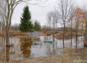 Затопленное кладбище