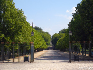 Дорога в Париж из Фотненбло