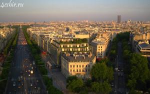 Елисейские поля (les Champs-Élysées)