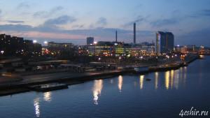 Огни ночного Стокгольма