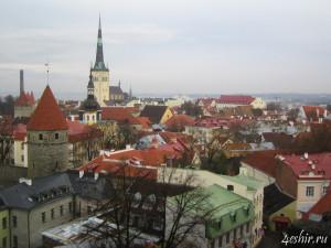 Таллинн, вид сверху