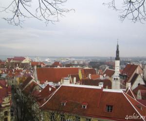 Старый Таллинн и порт