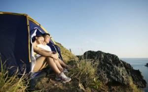 отдых с палаткой