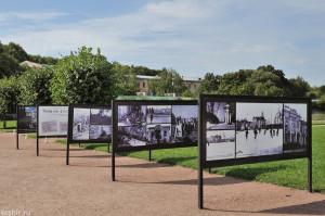 Фоторепортаж о восстановлении Петергофа