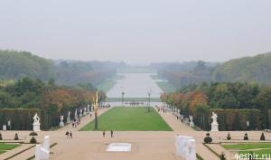 Туманный парк Версаля