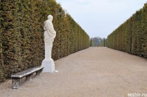 Широкие аллея Версаля