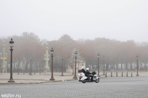 Туман в Париже