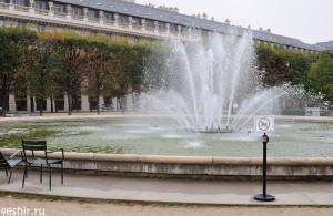Не плавать в фонтане!
