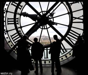 Часы в Орсэ