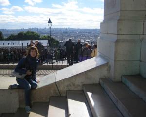 Панорама Парижа с Монмартра