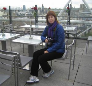 В ресторане на крыше