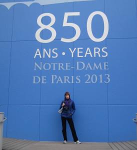 850 лет Собору Парижской Богоматери