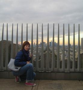 На Триумфальной арке Парижа