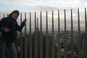Фото с Эйфелевой башней