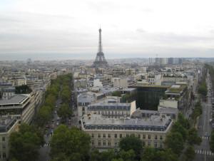 Панорама Парижа