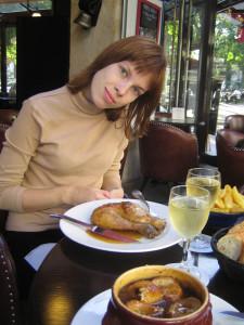 Обед по-французски