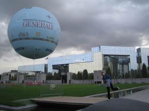 Воздушный шар в парке Ситроена