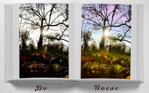 ретуширование пейзажных фотографий