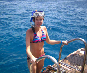 После исследования рифа