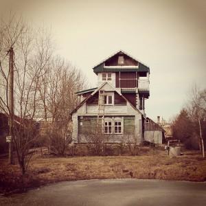 интересный домик