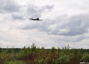 Як-52 над аэродромом