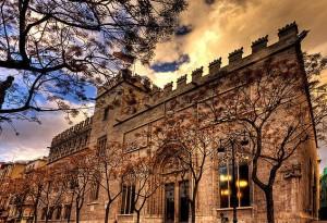 Шелковая биржа Валенсия