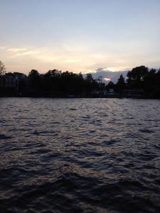 Закат в Озерках