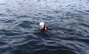 Плаваю с флайбордом
