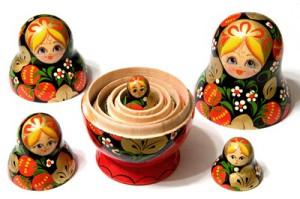 сувениры из России