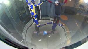 Акробатика в трубе