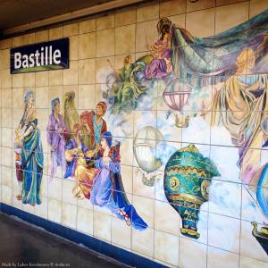 Станция метро Парижа