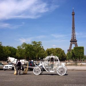Карета в Париже
