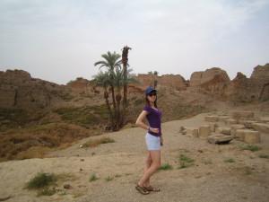 Дендера, пальмы