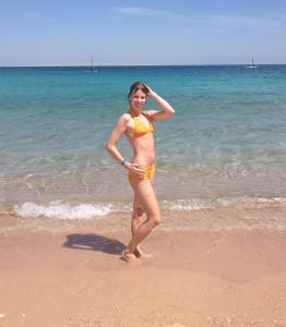На пляже
