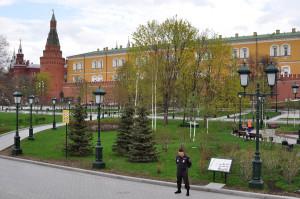 Пустой Александровский парк