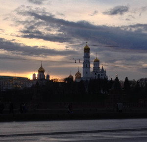 Закат в Кремле