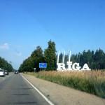 Въезд в Ригу