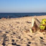 Пляж в Куликово